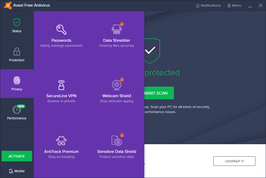 Avast Antivirus 2019 Crack Free Download