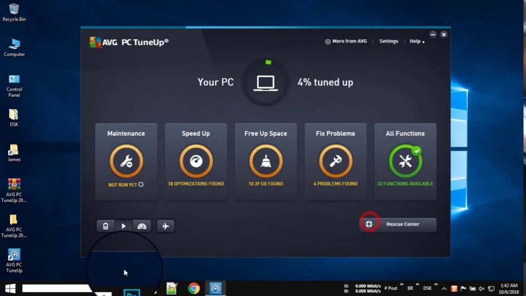 AVG PC Tuneup Key 2020 Full Working Lifetime Activated