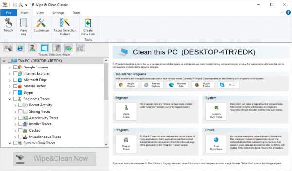 R Wipe Clean Patch & Serial Key Tested Free Download